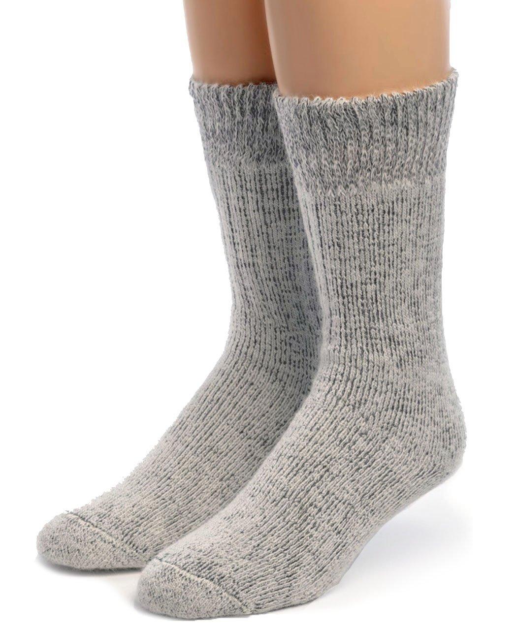 Warrior Alpaca Socks - Boy's Ultimate Alpaca Socks White/Cinder M
