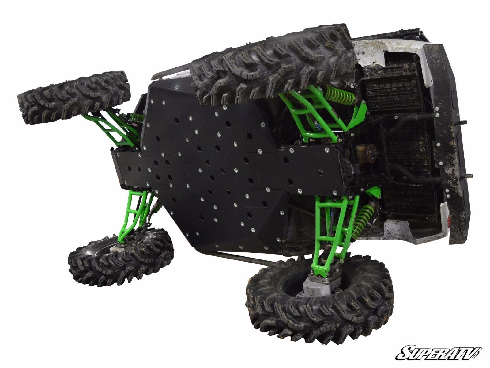 Bundle 2 items:MADE IN USA!!! Super ATV Kawasaki Teryx Full Skid Plate & FREE Unhinged ATV HAT!