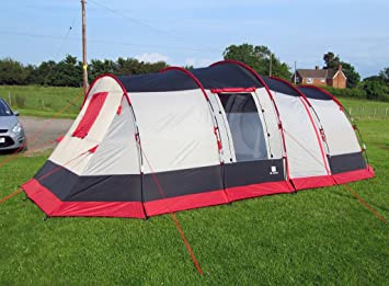 OLPro The Martley 6/8 Berth Family Tent With sewn In Groundsheet & OLPro The Martley 6/8 Berth Family Tent With sewn In Groundsheet ...