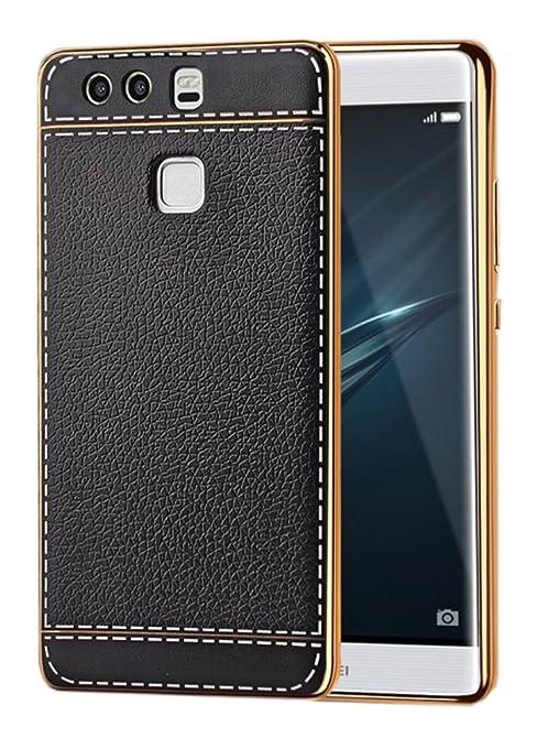 4 opinioni per Deesos Huawei P9 Plus Cover Cuoio Tessuto Alta Qualità PU Sottile Confortevole
