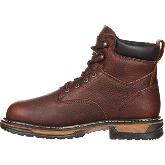 58f927dbb64 Rocky Men's Iron Clad Six Inch Work Boot