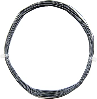 0,32€//m 10m Litze grau einadrig flexibel 0,14mm²