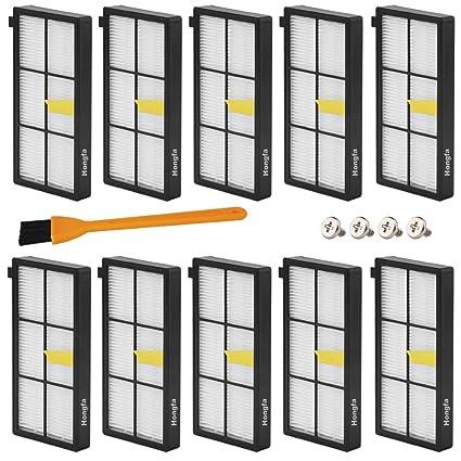 Filtro HEPA para iRobot Roomba 800 870 880 aspiradora de 980, HONGFA Kit de filtros