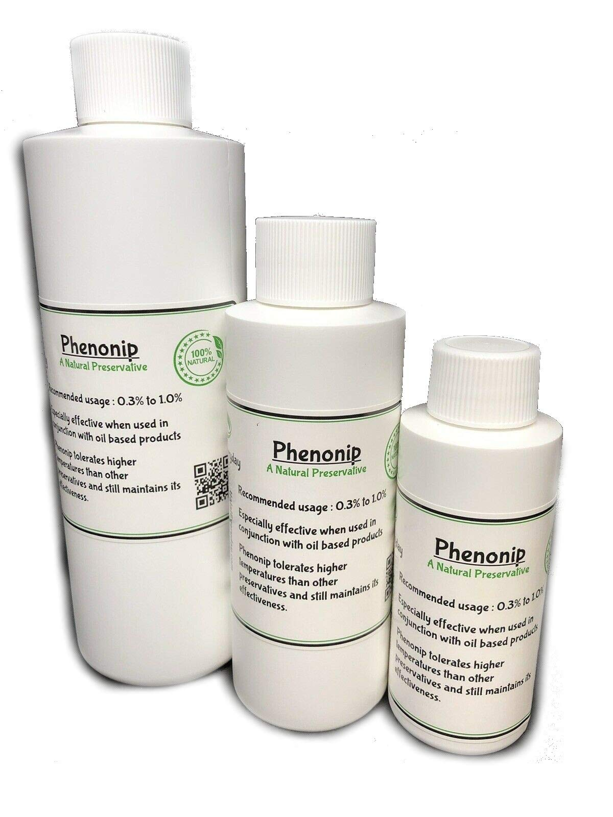 Phenonip - Amazing Preservative Used for Lotion, Cream, Lip Balm or Body Butter 4 Oz