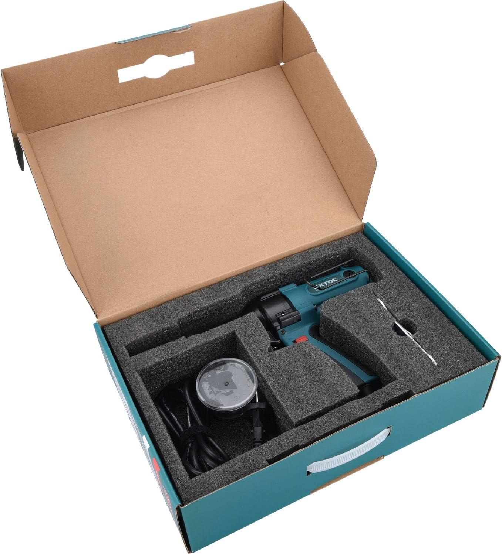 Remachadora el/éctrica Extol Industrial 8794550 400 W, fuerza de tracci/ón 8000 N, para remaches ciegos de 3,2-4,0-4,8 mm
