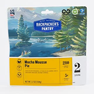 product image for Backpacker's Pantry Mocha Mousse Pie, Two Serving Pouch, (Packaging May Vary)