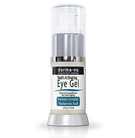 Ojos falte Crema de dermatológicamente de Nu – Anti Projector Eye Gel Tratamiento para ojo oscuros anillos, Hinchazón y las – peptid Colágeno ...