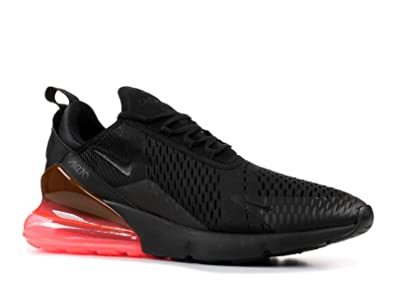 purchase cheap 216c7 88772 Nike Mens Air Max 270 Black Hot-Punch Mesh Size 7