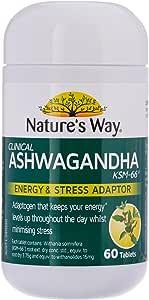 Nature's Way Ashwagandha tablets, 0.08 Kilograms