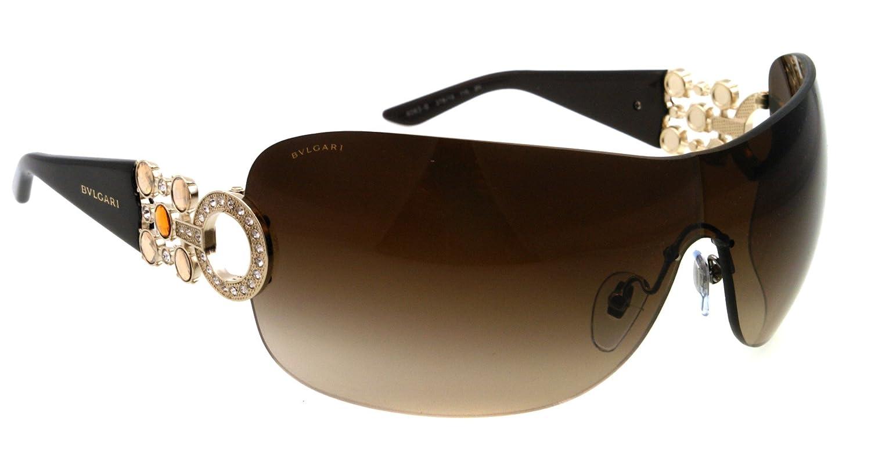 Amazon.com: anteojos de sol Bvlgari BV 6063B Color café 278 ...