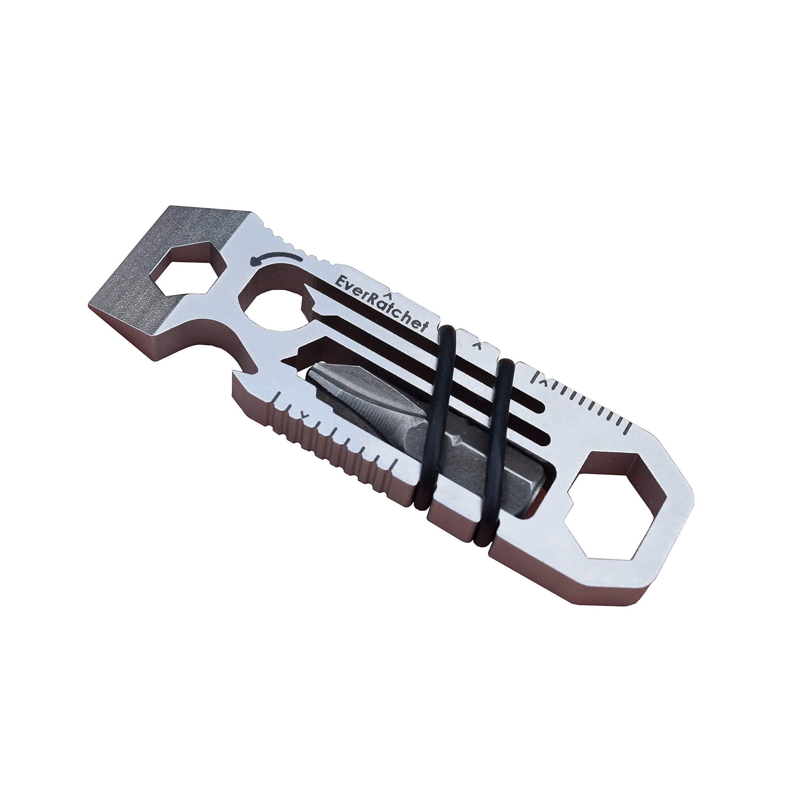 Ratcheting Keychain Tool