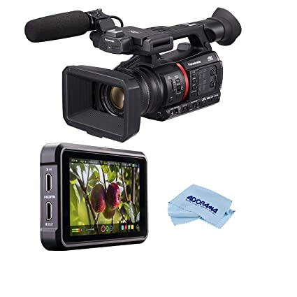 Amazon.com: Panasonic AG-CX350 4K Camcorder - Bundle with ...