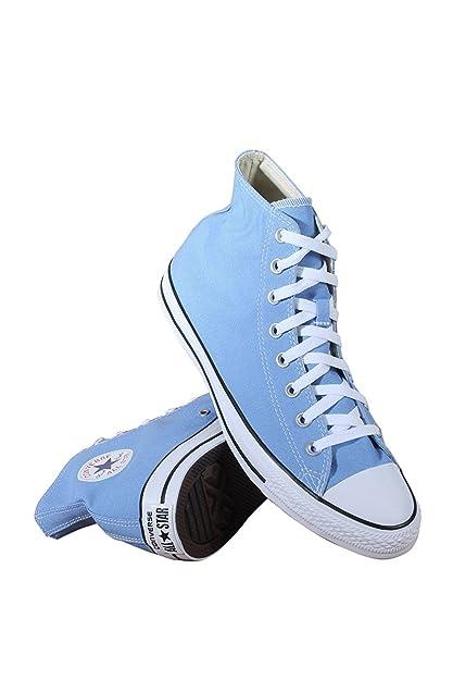 0678b429907 Converse Chuck Taylor All Star Seasonal High Top Fashion Shoe Pioneer Blue  Men s Size 9.5