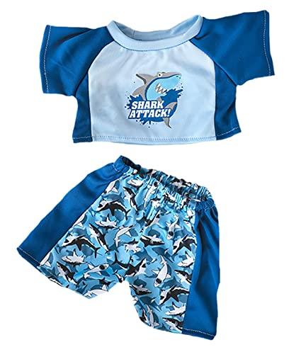 Amazoncom Shark Swimming Outfit Most 14 18 Build A Bear