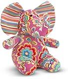 Melissa & Doug Sally Elephant - Patterned Pal Stuffed Animal