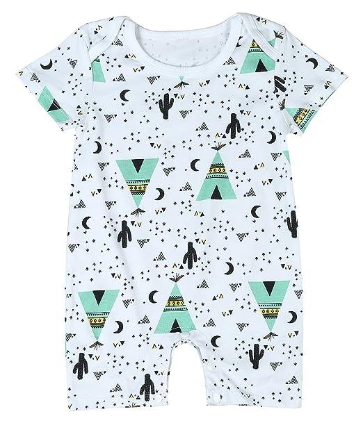 Amazon.com: Conjunto de ropa para bebé con estampado de ...