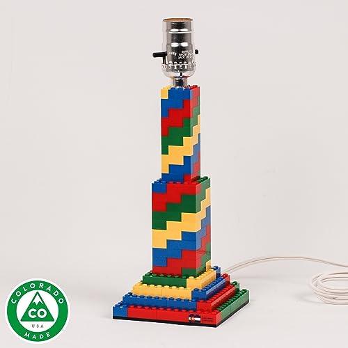 Lovely Spiral LEGO Lamp