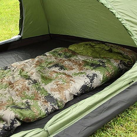 SUHAGN Saco de dormir Bolsa De Dormir Al Aire Libre Para Adultos Gruesa Envoltura Cálida,