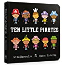 Ten Little Pirates Board Book