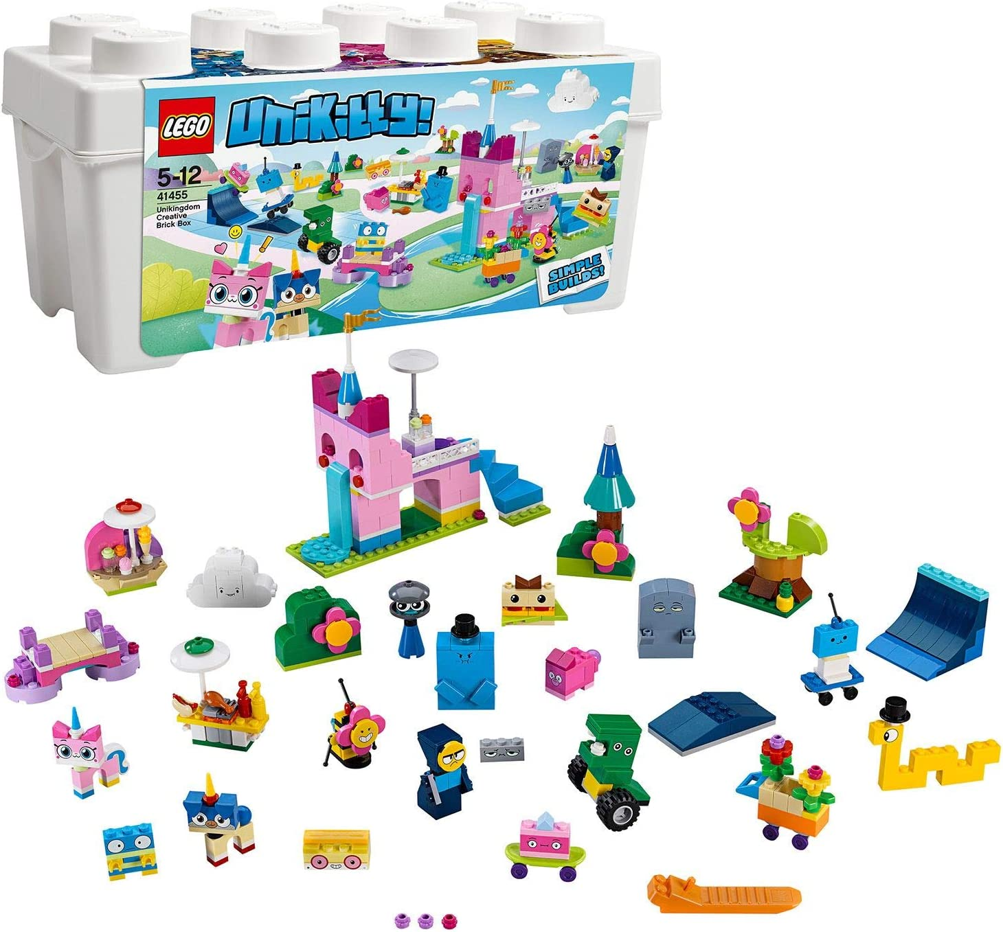 LEGO Unikitty - Caja de Ladrillos Creativos del Unireino, Juguete ...