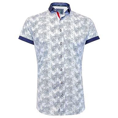 341383dbd2 Bewley & Ritch Jagger Men's Short Sleeve Shirt - White - XXXXL/8 ...