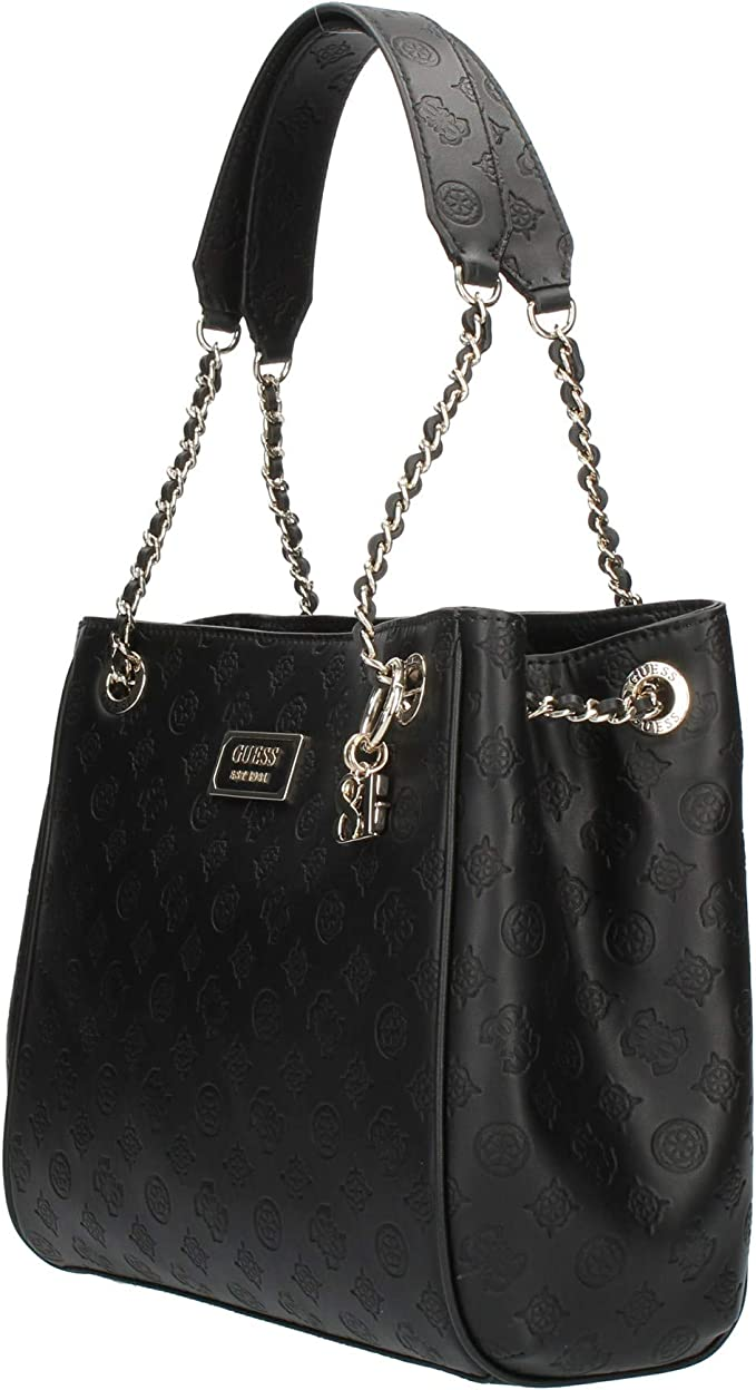 Guess SG766223 BLAK LOGO LOVE: Amazon.it: Scarpe e borse