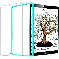 ESR Protection Ecran pour iPad 2018/2017 [Gabarit de Pose Inclu], Film en Verre Trempé 0.3mm 9H Ultra Résistant pour iPad 2018 / iPad 2017 / iPad Air 2 / iPad Pro 9.7 / iPad Air