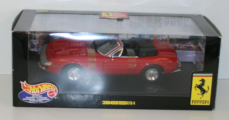 Hot Wheels 1/18 Scale 25730 Ferrari 365 GTS 4 - Rosso Red B002VLWDII