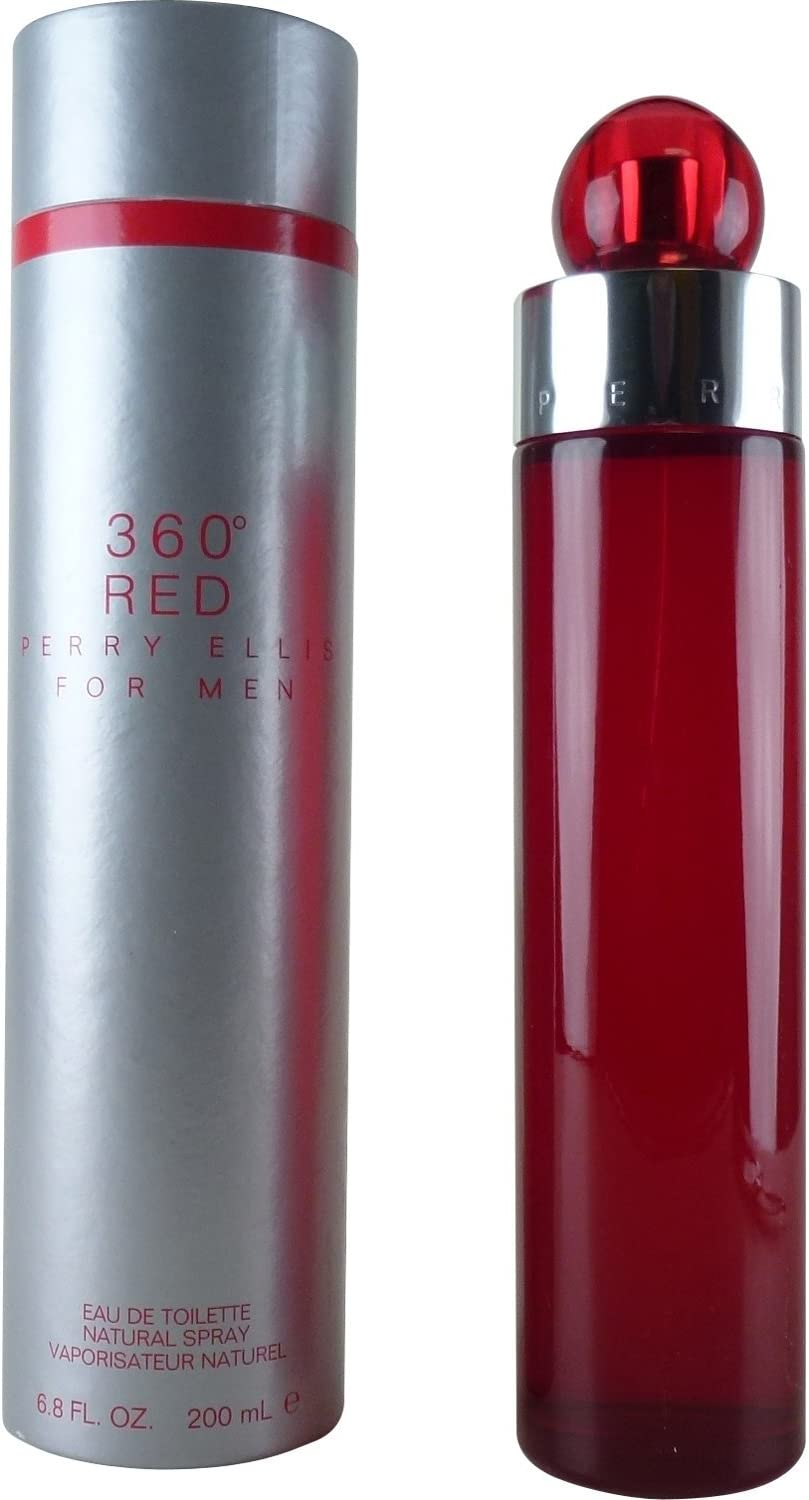 360 Red Fur Hombre de Perry Ellis – 200 ml Eau de Toilette Spray