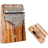 REGIS Kalimba 17 Keys Thumb Piano Tune Hammer and Study Instruction, Portable Mbira Sanza Finger Piano,Gift for Kids…
