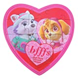 Paw Patrol Valentines Day Puzzle Heart Box with Gummy Candy, 3.17 oz (Pink)