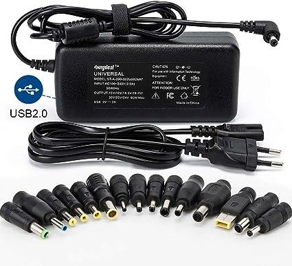 Chargeur Universel 120W PC Portable AC Power Adaptateur secteur alimentation