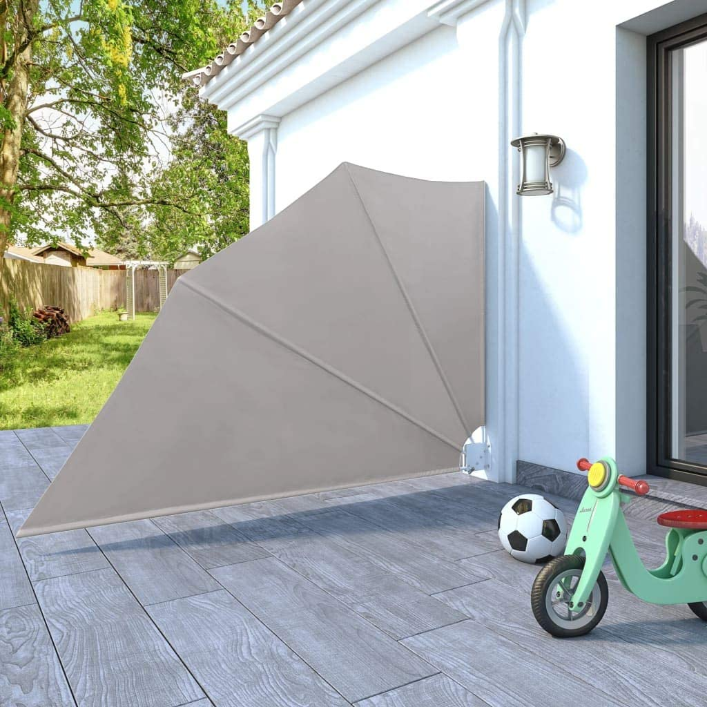 Amazon De Vidaxl Balkonfacher Creme 160x240cm Balkonsichtschutz