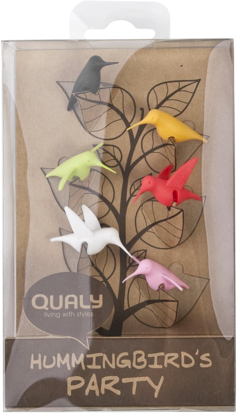 QUALY Hummingbirds marque-verre