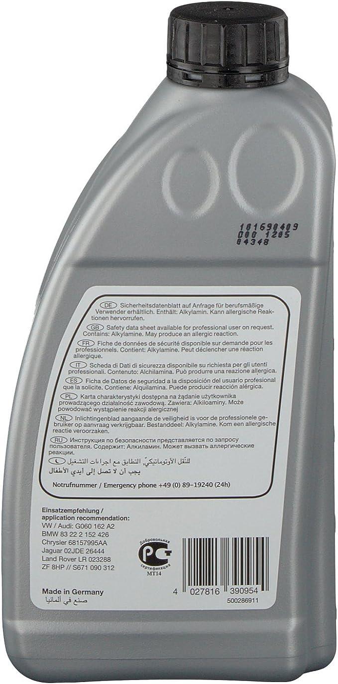 Febi Bilstein 39095 Automatikgetriebeöl Atf 1 Liter Auto