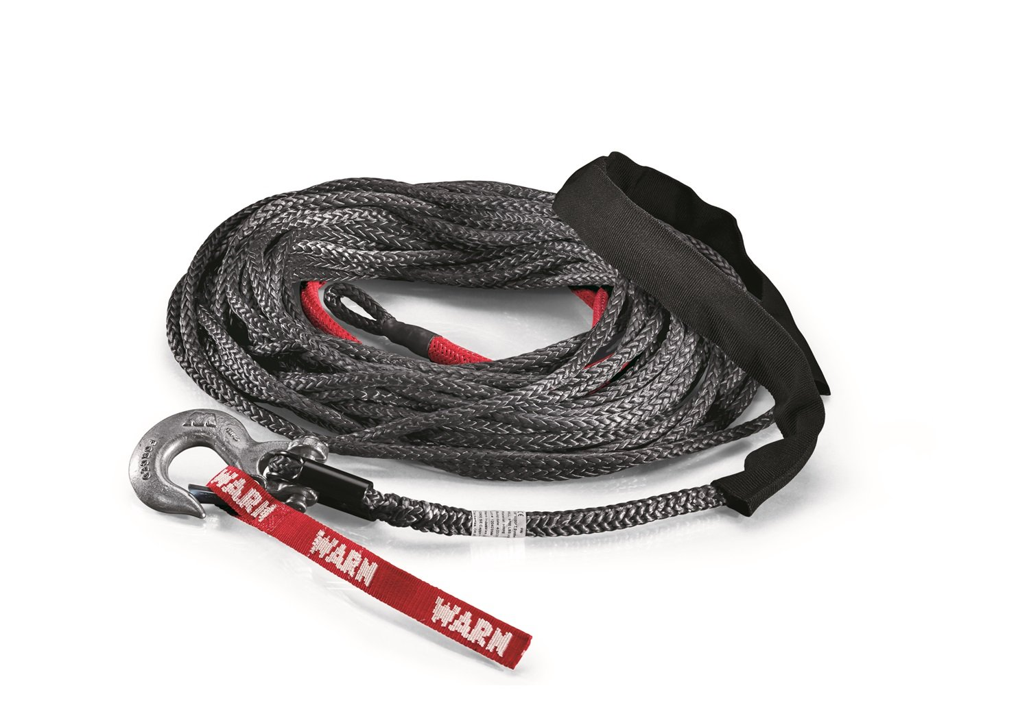 Warn 87915 Spydura Synthetic Winch Rope Kit Automotive Need A Wiring Schematic On M8000