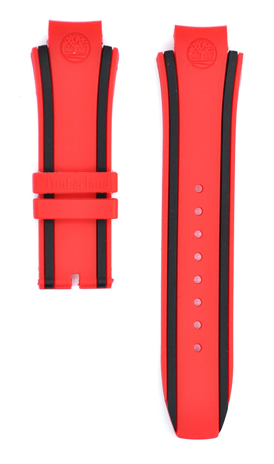 26 mmレッドRubber Watch Strap for tbl14323jsub04 Watches tmb101  B0796TR94B