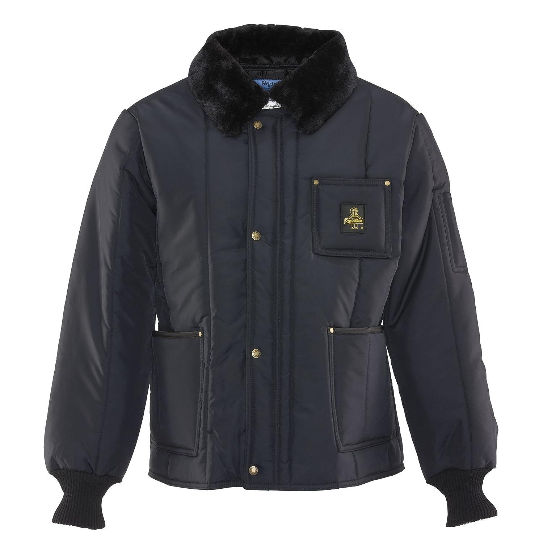 RefrigiWear Men's Water-Resistant Insulated Iron-Tuff Polar Jacket with Soft Fleece Collar