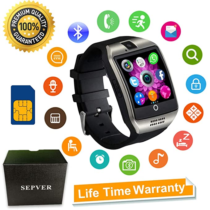 Amazon Smart Watch SEPVER SN60 Smartwatch With Touch Screen Unique Heart Touching Qua