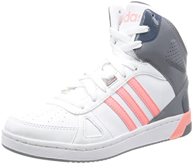 adidas HOOPS TEAM MID W Trainers for Women, 37 13, White