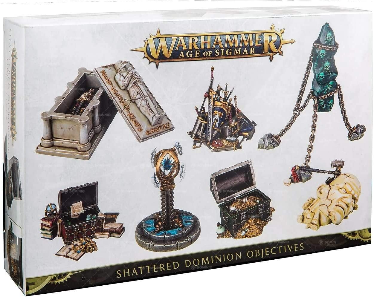 Warhammer Age of Sigmar Shattered Dominion Objectives: Amazon.es ...