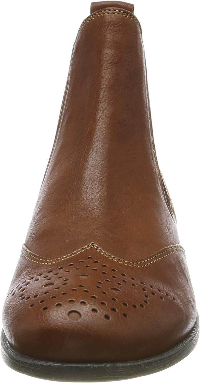 Think! Damen Agrat_585226 Chelsea Boots Braun Cognac 55