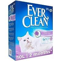 Ever Clean EEVC040 Klumpande Kattströ med Doft av Lavendel, 10 l