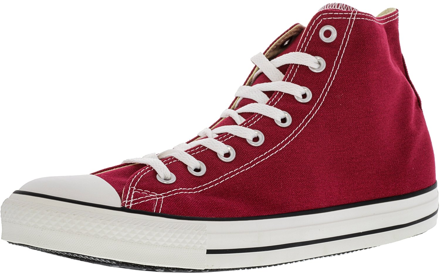 Converse Chuck Taylor All Star Leather High Top Sneaker B008KR0HG2 15 B(M) US Women / 13 D(M) US Men|Jester Red
