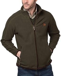 Rydale Mens Harpham Autumn Winter Mid Layer Warm Full Zip Fleece Jacket Coat