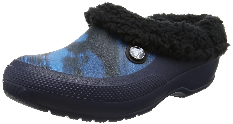 Crocs Unisex-Erwachsene Classic Blitzen Iii Graphic Clogs Blau (Blau Jean)