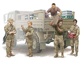 Trumpeter 429 - Maqueta de Soldados de EE.UU. (Equipo logístico de abastecimiento) (Escala 1:35)