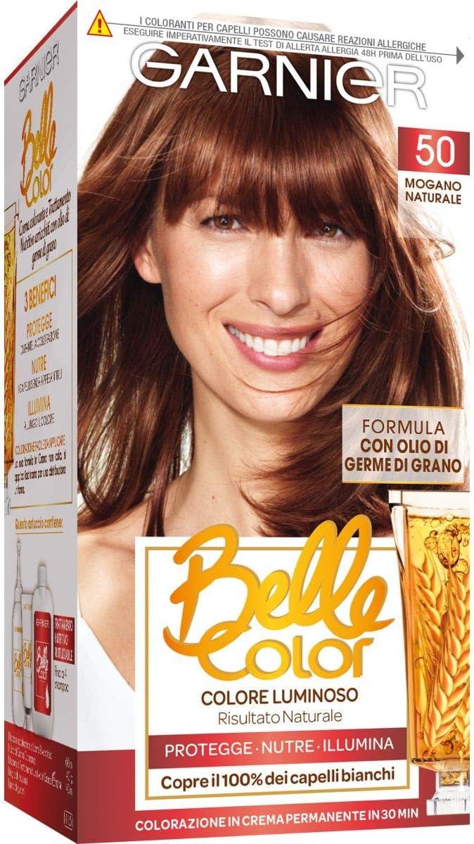 BELLE COLOR 50 mogano naturale - Tintes para el cabello