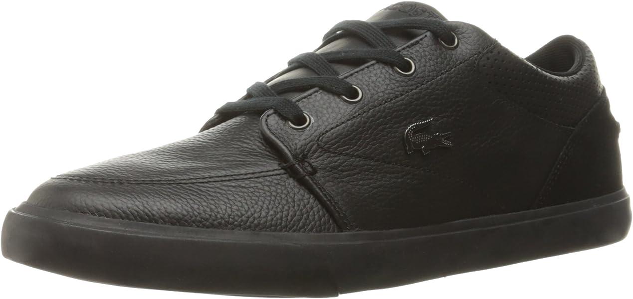 d802ac116a1356 ... Mens Grad Vulc Fashion Sneaker huge sale 92dc4 8f0a9 ... Lacoste Mens  Black ...