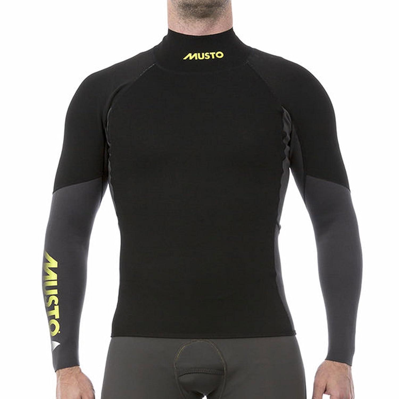 Musto Foiling Neopren-Longsleeve 1.5mm Herren dunkelgrau-schwarz
